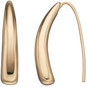 Dana Buchman Curved Bar Threader Earrings