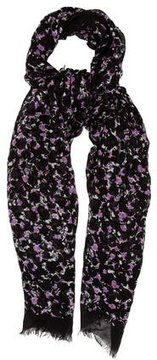 Marc by Marc Jacobs Floral Modal Scarf w/ Tags