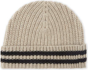 Zadig & Voltaire Malo ribbed wool beanie hat