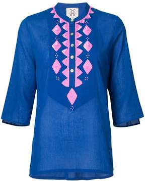 Figue Jasmine sequin-embrodered tunic