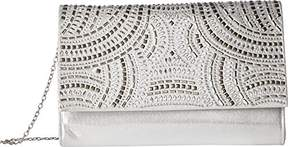 Jessica McClintock Nora Studded Sparkle & Shine Clutch