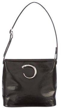 Cartier Panthère Leather Shoulder Bag