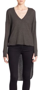 Feel The Piece Zelie High-Low V-Neck Pullover