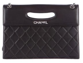 Chanel Quilted Clutch on Chain