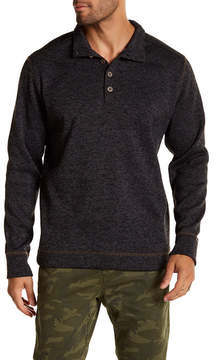 Weatherproof Mock Neck Fleece Pullover