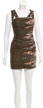 Matthew Williamson Embellished Silk Dress w/ Tags