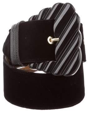 Emporio Armani Velvet Waist Belt