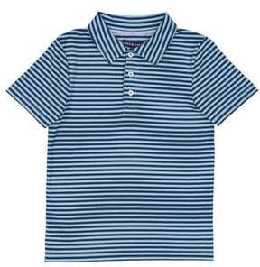 Andy & Evan Stripe Athletic Polo