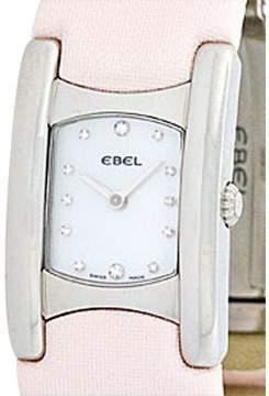 Ebel Stainless Steel  Beluga Manchette Womens Watch