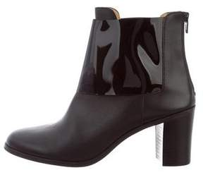 MM6 MAISON MARGIELA MM6 by Maison Martin Margiela Leather Ankle Boots
