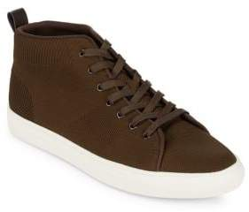 Kenneth Cole Reaction Woven High-Top Sneakers