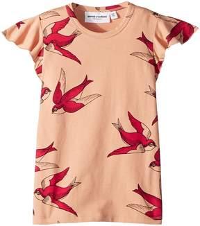 Mini Rodini Swallows Wing T-Shirt Girl's T Shirt