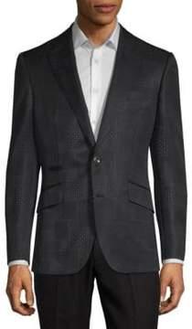 Robert Graham Mixed-Print Jacquard Jacket