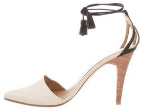 Ulla Johnson Suede Pointed-Toe Pumps