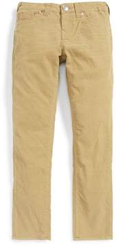 True Religion Geno Relaxed Slim Fit Corduroy Pants (Toddler & Little Boys)