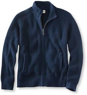 L.L. Bean L.L.Bean Blue Jean Sweater, Full Zip
