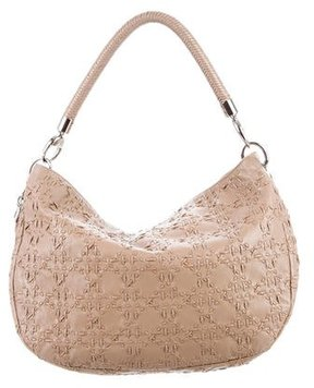 Christian Dior Cannage Leather Hobo