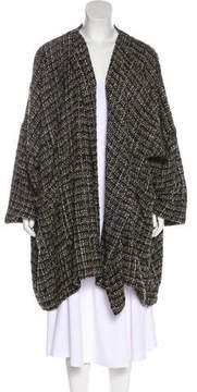 eskandar Wool & Angora-Blend Tweed Cardigan