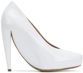 Maison Margiela curved pointed pumps