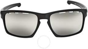 Oakley Chrome Iridium Vented Square Sunglasses