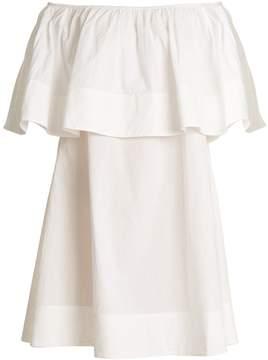 Apiece Apart Piper Petal off-the-shoulder cotton dress