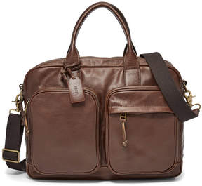 Fossil Defender Double Zip Workbag