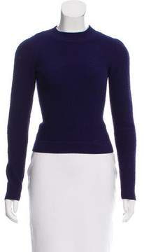 Alaia Wool-Blend Textured Top