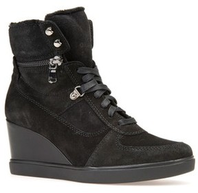 Geox Women's Eleni Wedge Sneaker