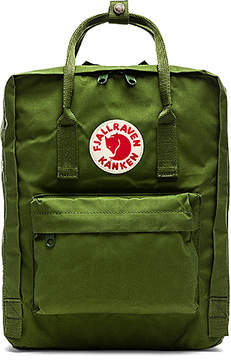 Fjallraven Kanken in Green.
