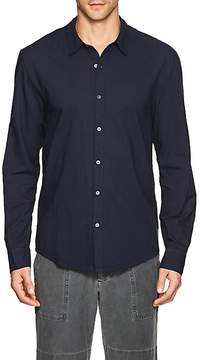 James Perse MEN'S COTTON POPLIN SHIRT