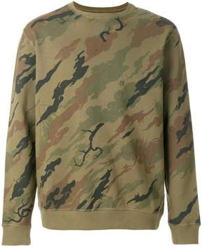 MHI camouflage embroidered jumper