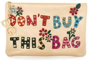 Dolce & Gabbana Cleo appliqué clutch bag