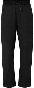 Isabel Benenato Slub Cotton And Linen-Blend Cargo Trousers