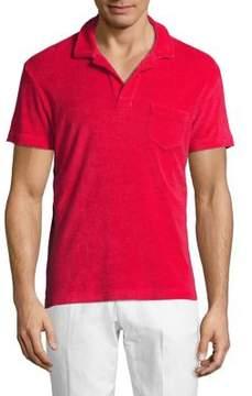 Orlebar Brown Cotton Polo Shirt
