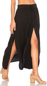 Bella Dahl Button Front Maxi Skirt