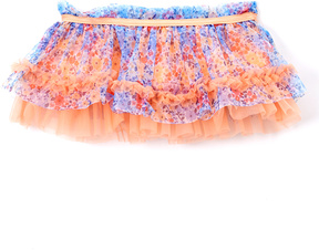 Baby Starters Coral Floral Tutu Skirt - Infant