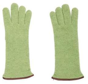 Barneys New York Barney's New York Cashmere Leather Gloves