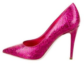 Giamba Glitter Fuxia Pumps w/ Tags