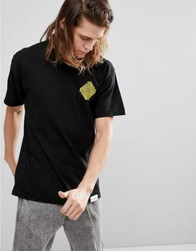 Diamond Supply Co. Formula T-Shirt With Back Print in Black