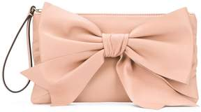 RED Valentino RED(V) bow front clutch