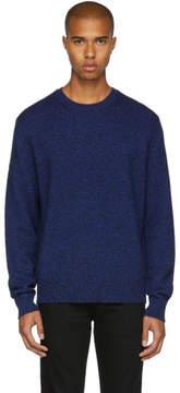 Rag & Bone Blue Cashmere Haldon Sweater