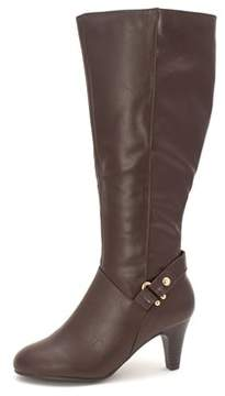 Karen Scott Womens Harloww Wide Calf Closed Toe Mid-calf Fashion Boots.