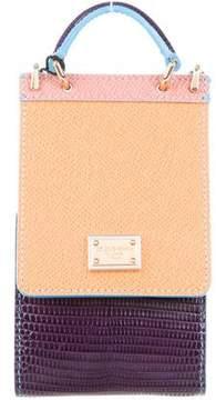 Dolce & Gabbana Sicily Embossed Cigarette Case Crossbody Bag