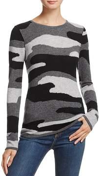 Aqua Cashmere Camo Crewneck Sweater - 100% Exclusive