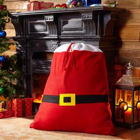 Asstd National Brand Belt Santa Sack Gift Bag