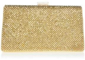 La Regale LaRegale Metallic Mesh Handbag