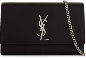Saint Laurent Kate Monogram leather shoulder bag - BLACK - STYLE