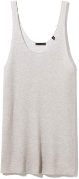 ATM Anthony Thomas Melillo Deep Scoop-Neck Sweater Tank