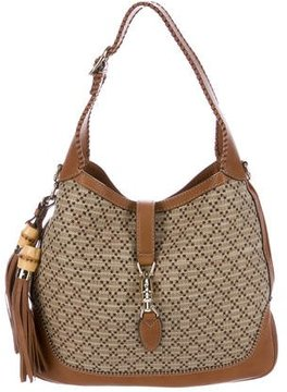 Gucci Diamante Large New Jackie Bag - BROWN - STYLE