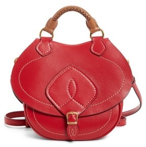 Maison Margiela Small Bag-Slide Leather Shoulder Bag - Red